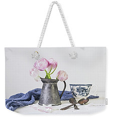 Weekender Tote Bag featuring the photograph In The Moment by Kim Hojnacki