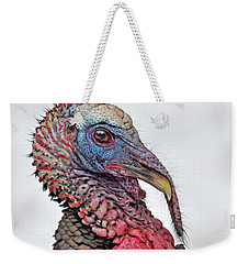 Weekender Tote Bag featuring the photograph In The Mood by Tony Beck