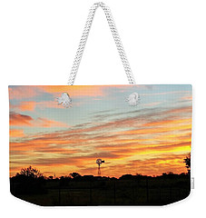 In The Morning Still Weekender Tote Bag