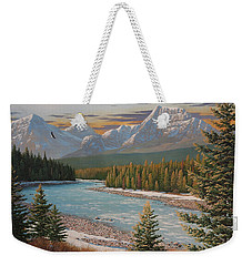 In The Morning Sun Weekender Tote Bag