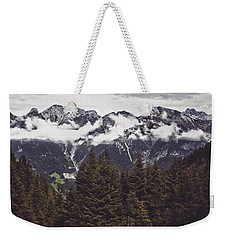In The Mountains Weekender Tote Bag by Daniel Precht