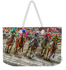 In The Mud Weekender Tote Bag