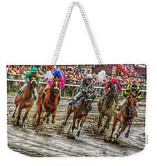 In The Mud Weekender Tote Bag