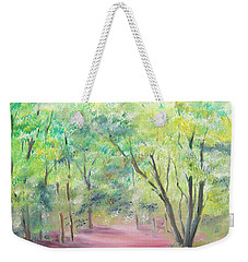 In The Park Weekender Tote Bag by Elizabeth Lock