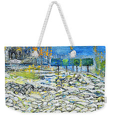 In The Park Weekender Tote Bag by Evelina Popilian