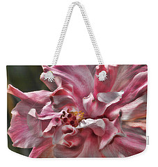 Weekender Tote Bag featuring the photograph In The Pink by HH Photography of Florida