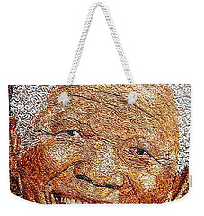 Nelson Mandela - In The Pyramid Of Our Minds Weekender Tote Bag by Bankole Abe