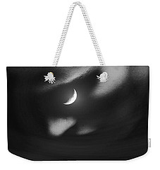 In The Quiet Of Your Mind Black Weekender Tote Bag by ISAW Gallery