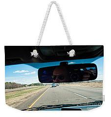 In The Road 2 Weekender Tote Bag