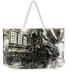 In The Roundhouse Weekender Tote Bag