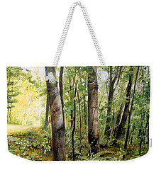 In The Shaded Forest  Weekender Tote Bag
