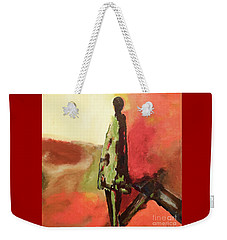 In The Shadows Weekender Tote Bag by Gallery Messina