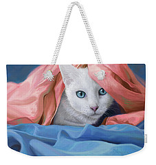 In The Silk Weekender Tote Bag