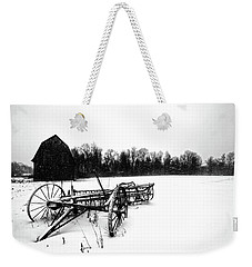 In The Snow Weekender Tote Bag