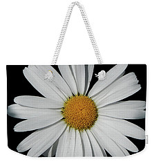In The Spotlight White Daisy Weekender Tote Bag