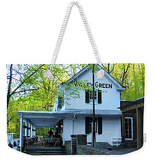 Weekender Tote Bag featuring the photograph In The Spring At Valley Green Inn by Bill Cannon