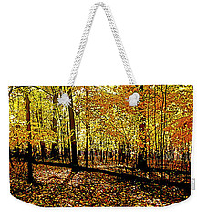 In The The Woods, Fall  Weekender Tote Bag