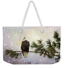 In The Twilight Glow Weekender Tote Bag