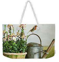 In The Vintage Garden Weekender Tote Bag