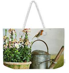 In The Vintage Garden Weekender Tote Bag