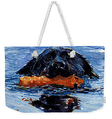 In The Wake Weekender Tote Bag by Molly Poole