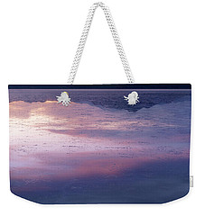 Weekender Tote Bag featuring the photograph In The Wake Of Day by Dustin LeFevre