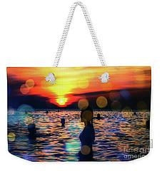 In The Water Weekender Tote Bag