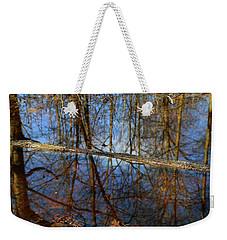 In The Wetland 3 Weekender Tote Bag by Mary Bedy