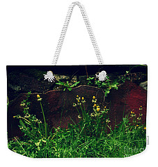 Weekender Tote Bag featuring the photograph In The Wild by Kristine Nora