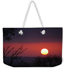 Weekender Tote Bag featuring the photograph In The Zone by Alex Lapidus