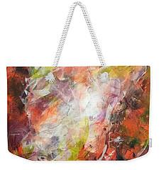 In Time And Space Weekender Tote Bag