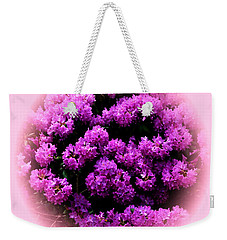 In Time For Memorial Day Weekend Weekender Tote Bag by Jacqueline M Lewis