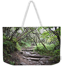 The Enchanted Forest Path Weekender Tote Bag by Gary Smith