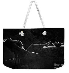 In Vain  Weekender Tote Bag by Jessica Shelton
