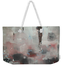 In With The Crowd Weekender Tote Bag by Raymond Doward