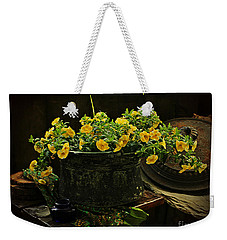 In Yellow  Weekender Tote Bag