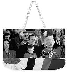 Inauguration Of George Bush Sr Weekender Tote Bag
