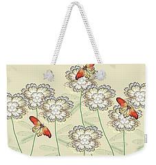 Incendia Flower Garden Weekender Tote Bag
