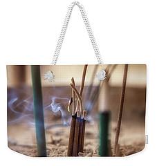 Incense Burning Weekender Tote Bag