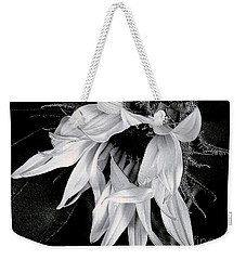 Weekender Tote Bag featuring the photograph Incognito by Elfriede Fulda