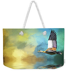 Incoming Weekender Tote Bag by Cyndy Doty
