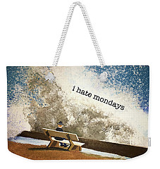 Incoming - Mondays Weekender Tote Bag by Thomas Blood
