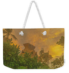 Incoming Storm On Playa Diamante Acapulco Weekender Tote Bag