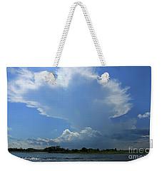 Incoming Storm Over Barnegat Bay Weekender Tote Bag