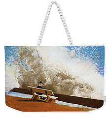 Incoming Weekender Tote Bag by Thomas Blood