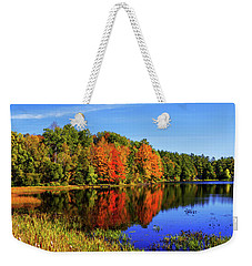 Weekender Tote Bag featuring the photograph Incredible Pano by Chad Dutson