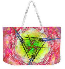 Weekender Tote Bag featuring the digital art Incrusaded by Andrew Kotlinski