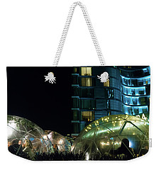 Weekender Tote Bag featuring the photograph Incubation Of The Pod People by Alex Lapidus