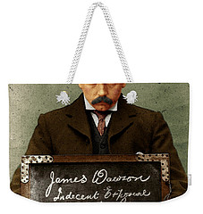 Indecent Exposure Weekender Tote Bag