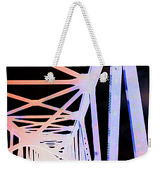Weekender Tote Bag featuring the photograph Indefinite Sight In by Jamie Lynn